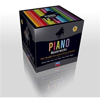 Piano masterworks - Coffret 50 CD