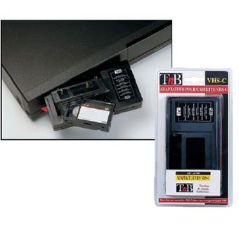 t 39 nb adaptateur de cassettes accessoire cam ra achat prix fnac. Black Bedroom Furniture Sets. Home Design Ideas