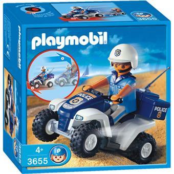 Playmobil 3655 policier quad playmobil achat prix fnac - Playmobile policier ...