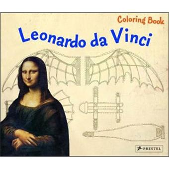 Leonardo da vinci: coloring book
