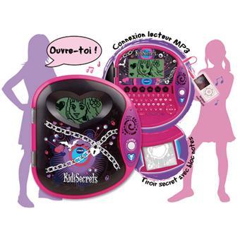 vtech kidi secrets 2 black edition jouet multim dia. Black Bedroom Furniture Sets. Home Design Ideas
