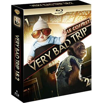 Very Bad Trip - Very Bad Trip 2 - Coffret Blu-Ray