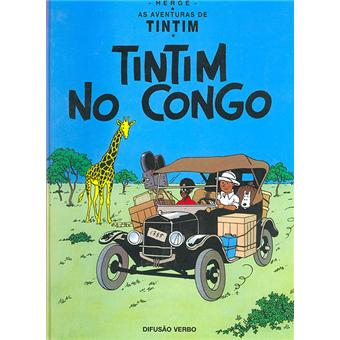 TintinKUIFJE IN AFRIKA - Portugees