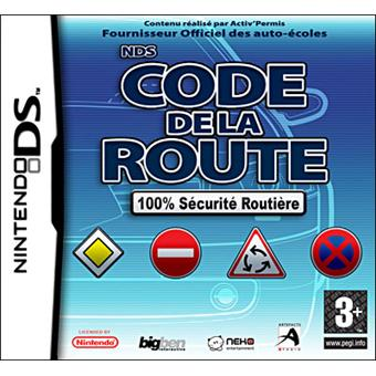 code de la route sur nintendo ds jeux vid o achat prix fnac. Black Bedroom Furniture Sets. Home Design Ideas
