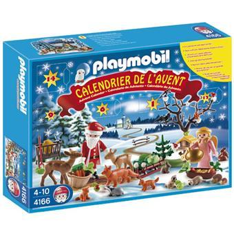 Calendrier L Avent Playmobil.Playmobil 4166 Calendrier De L Avent Les Animaux De La Foret