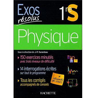 Exos Resolus Physique 1ere S Broche Collectif Achat Livre Fnac