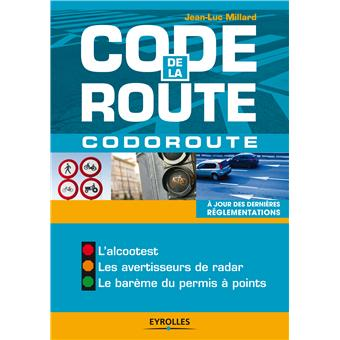 code de la route codoroute broch jean luc millard achat livre fnac. Black Bedroom Furniture Sets. Home Design Ideas