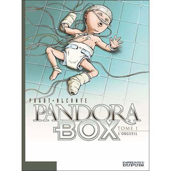 Pandora boxPandora Box - L'Orgueil - tome 1/8