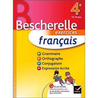 Francais 4e Bescherelle