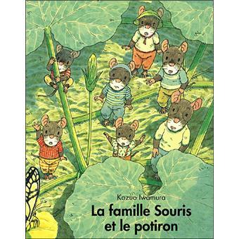 La famille SourisLa famille Souris et le potiron