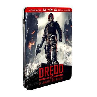 Dredd Edition Stellbook Collector Combo Blu-ray 3D DVD