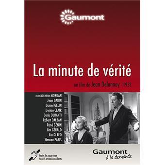 La minute de vérité DVD