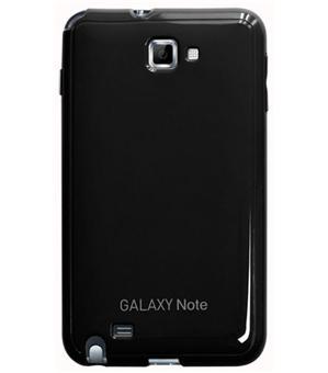 Anymode Coque semi-rigide pour Samsung Galaxy Note - Glossy Noire