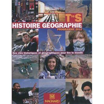 Histoire géographie Term S