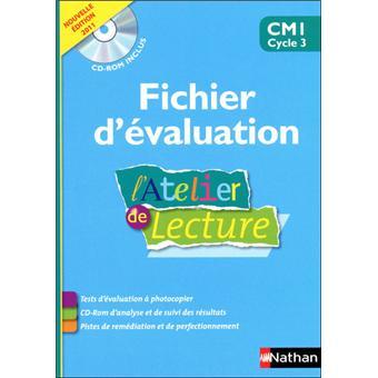 L Atelier De Lecture Fichier Evaluation Cd Cm1
