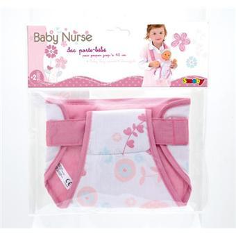 Smoby Baby Nurse Sac porte bébé - Accessoire poupée - Achat   prix ... b09e7fefe1a