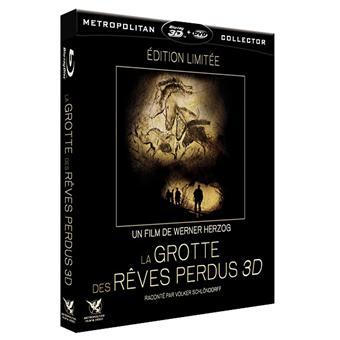 La Grotte des rêves perdues Edition Collector limitée Combo Blu-ray 3D DVD