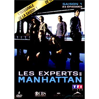 Les Experts ManhattanCoffret intégral de la Saison 1