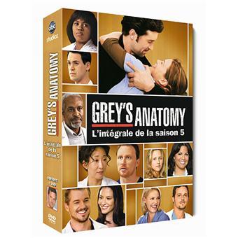 Grey's AnatomyGrey's Anatomy - Coffret intégral de la Saison 5