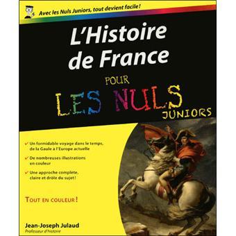 Pour Les Nuls L Histoire De France Pour Les Nuls Junior
