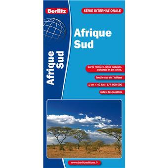 Carte Routiere Afrique Du Sud Fnac.Afrique Du Sud