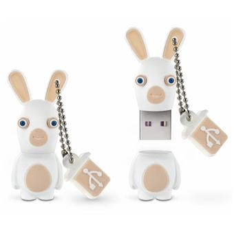 Favori Integral - Clé USB The Lapins Crétins Souriant 8 Go - Clé USB  TC83