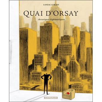 bande dessinee quai d'orsay fnac