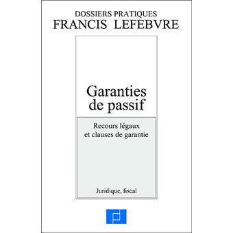 Garanties De Passif Broche Collectif Achat Livre Fnac