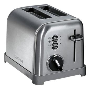 grille pain cuisinart cpt160e achat prix fnac. Black Bedroom Furniture Sets. Home Design Ideas