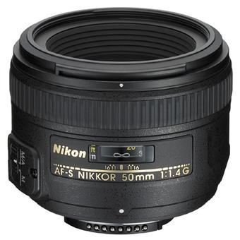 Objectif reflex Nikon AF-S FX IF 50 mm f/1.4 série G