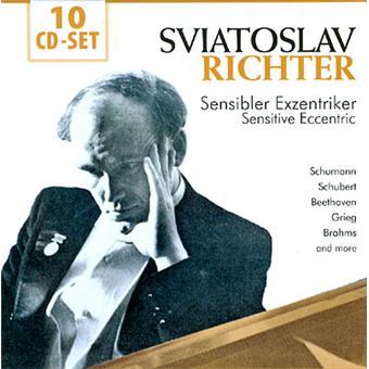 Sviatoslav Richter | Sensibler Exzentriker (Sensitive Eccentric) (10CD)