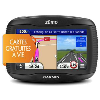 gps garmin z mo 340 lm moto europe gratuit vie mise jour de la carte gps auto. Black Bedroom Furniture Sets. Home Design Ideas