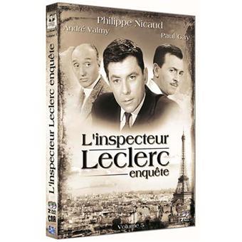 L'Inspecteur LeclercL'Inspecteur Leclerc enquête - Coffret 5