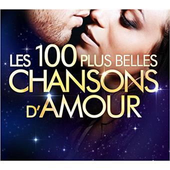 les 100 plus belles chansons d 39 amour compilation vari t fran aise cd album achat prix. Black Bedroom Furniture Sets. Home Design Ideas