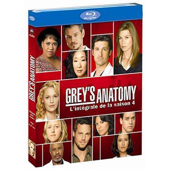 Grey's AnatomyGrey's Anatomy - Coffret intégral de la Saison 4 - Blu-Ray