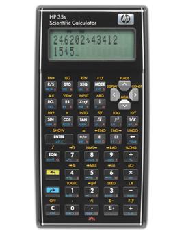 HP Calculatrice 35s
