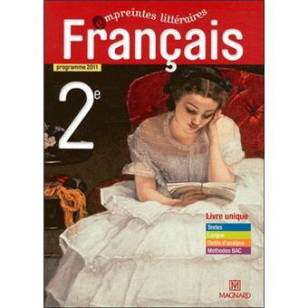 Francais 2nde