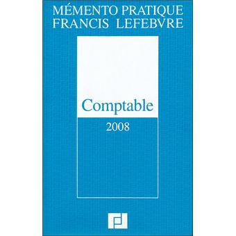 Memento Comptable 2008 Edition 2008 Broche Collectif Achat Livre Fnac