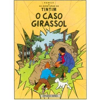 Tintin - DE ZAAK ZONNEBLOEM - Portugees