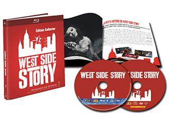 West side Story Edition Collector Blu-ray Inclus DVD