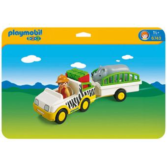 Zoovéhiculerhinocéros Gardien 6743 6743 Playmobil De Playmobil b6fgy7