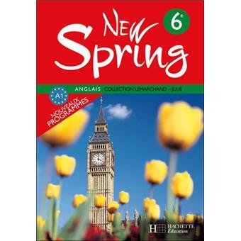 New Spring 6e Lv1 Anglais Livre De L Eleve