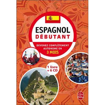 Coffret Espagnol Debutant Livre 6 Cd