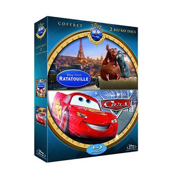 CarsRatatouille - Cars, Quatre roues - Coffret - Blu-Ray