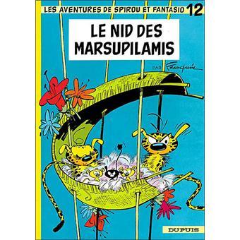 Spirou et FantasioLe nid des marsupilamis