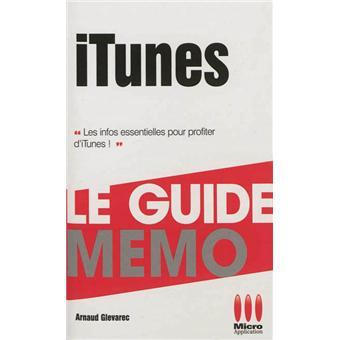 ITunes. Guide Mémo - Arnaud Glevarec