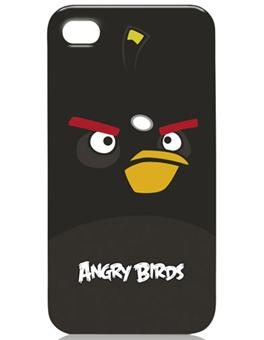 Gear4 Coque Angry Birds pour iPhone 4 & 4S - Black Bird