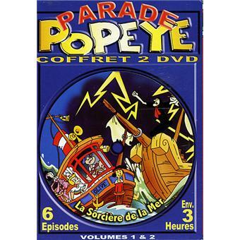 PopeyeCoffret volumes 1 et 2