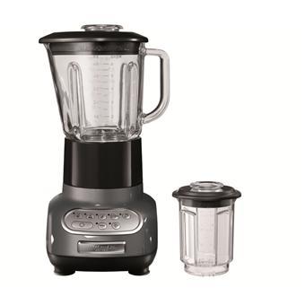 Blender avec Bol Culinaire KitchenAid Artisan® 5KSB5553EMS Gris Etain