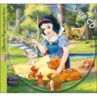 disney princesses livre avec un cd audio nouvelle dition blanche neige mon histoire. Black Bedroom Furniture Sets. Home Design Ideas